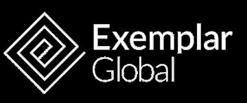 Exemplar Logo White